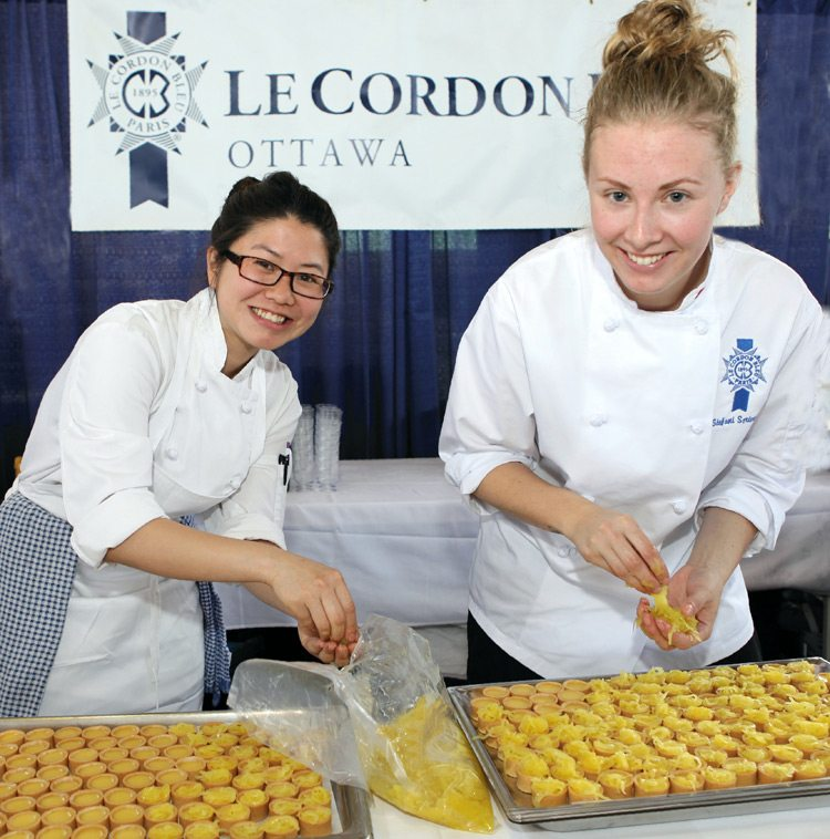 Signatures Le Cordon Bleu at Bon Appetit Ottawa 2015. Photo by Louis Siegel.