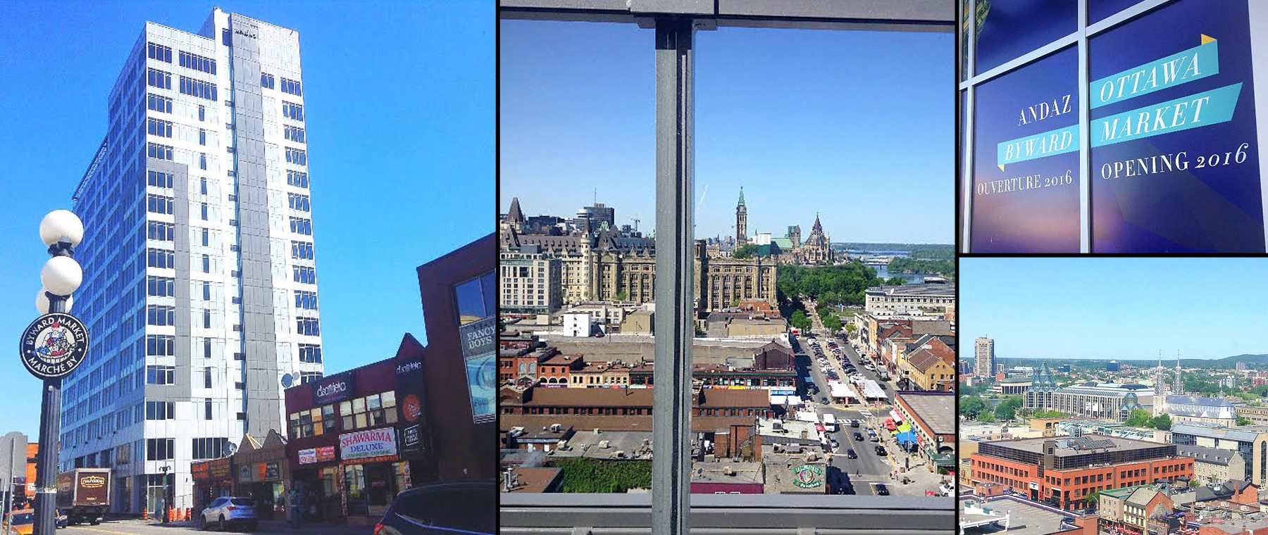 The view from Ottawa's new rooftop lounge