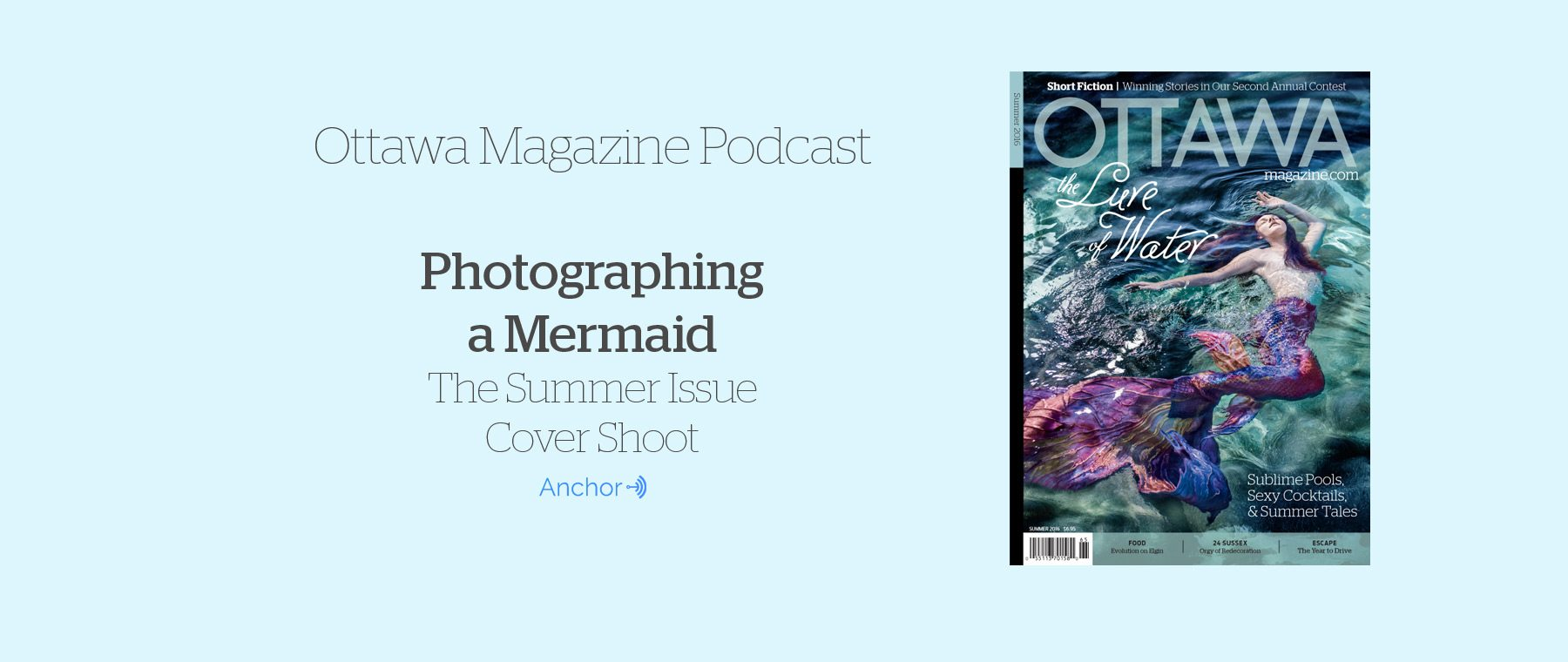 Mermaids and More! Summer 2016 Cover Revealed