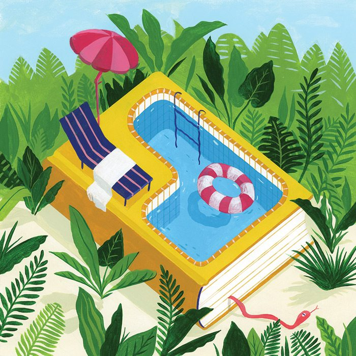 Poolside-Reads-Illustration-Suharu-Ogawa