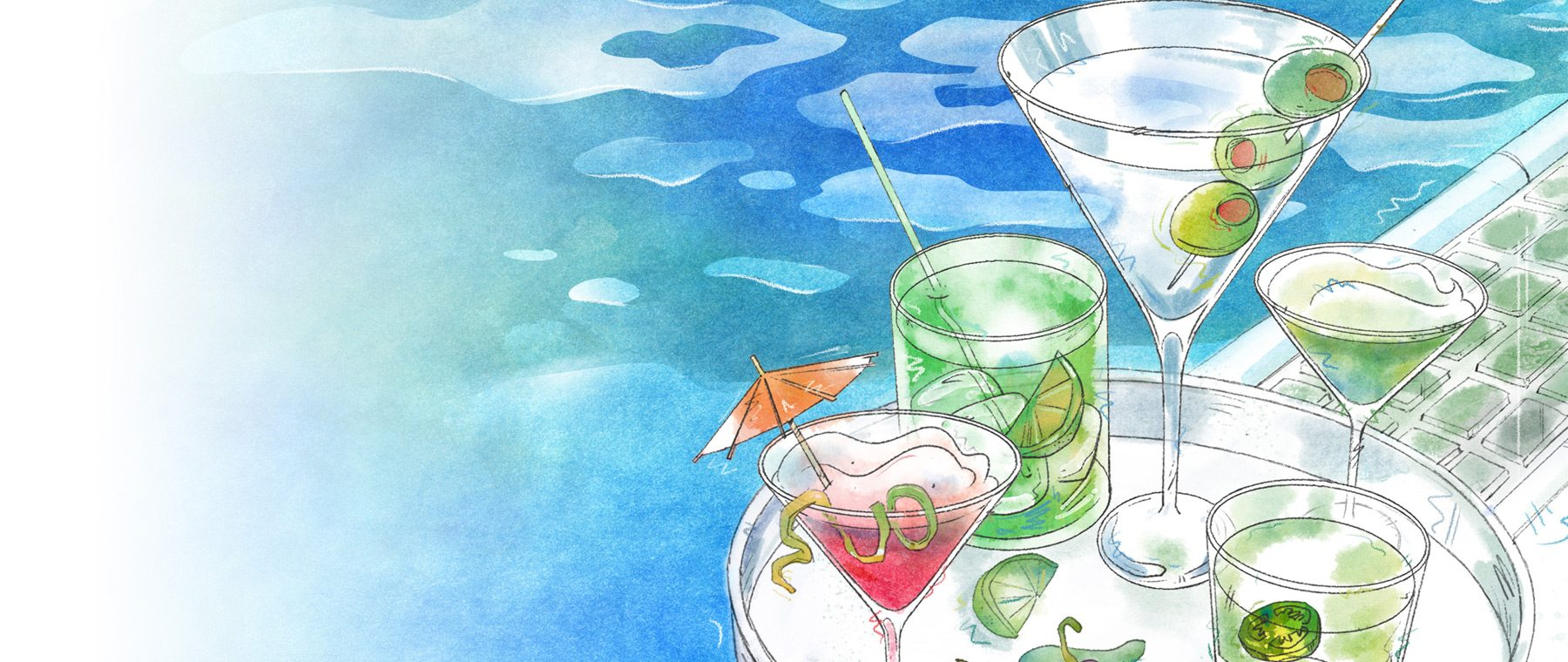 Satiate Summer's Heat with Craft Cocktails