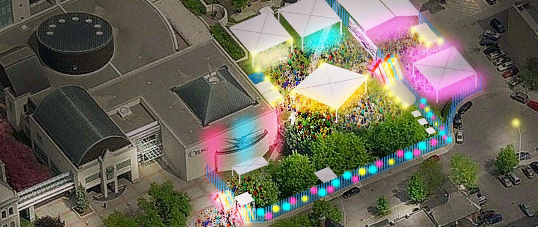 Arboretum Festival's village will feed those in need with art, beer & bazaar