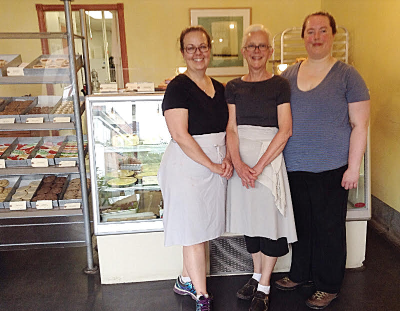 Owners (left to right) Sheila Lynch, Christine Grenville, and Emily Grenville are keen to launch in Centretown