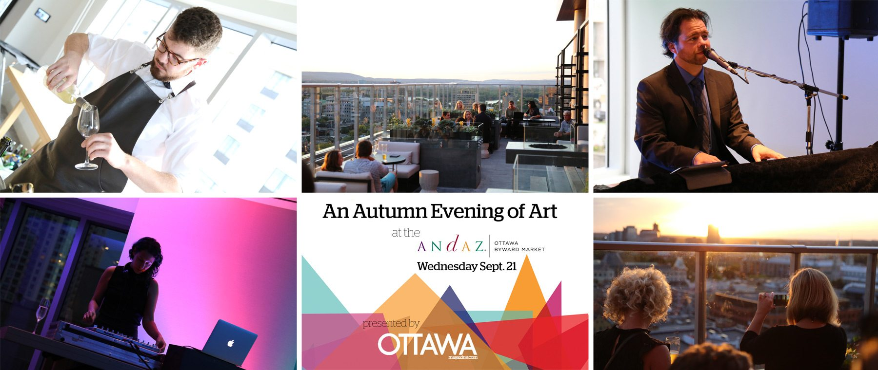 Autumn Evening of Art at Andaz Hotel a Smashing, Sold-Out Success