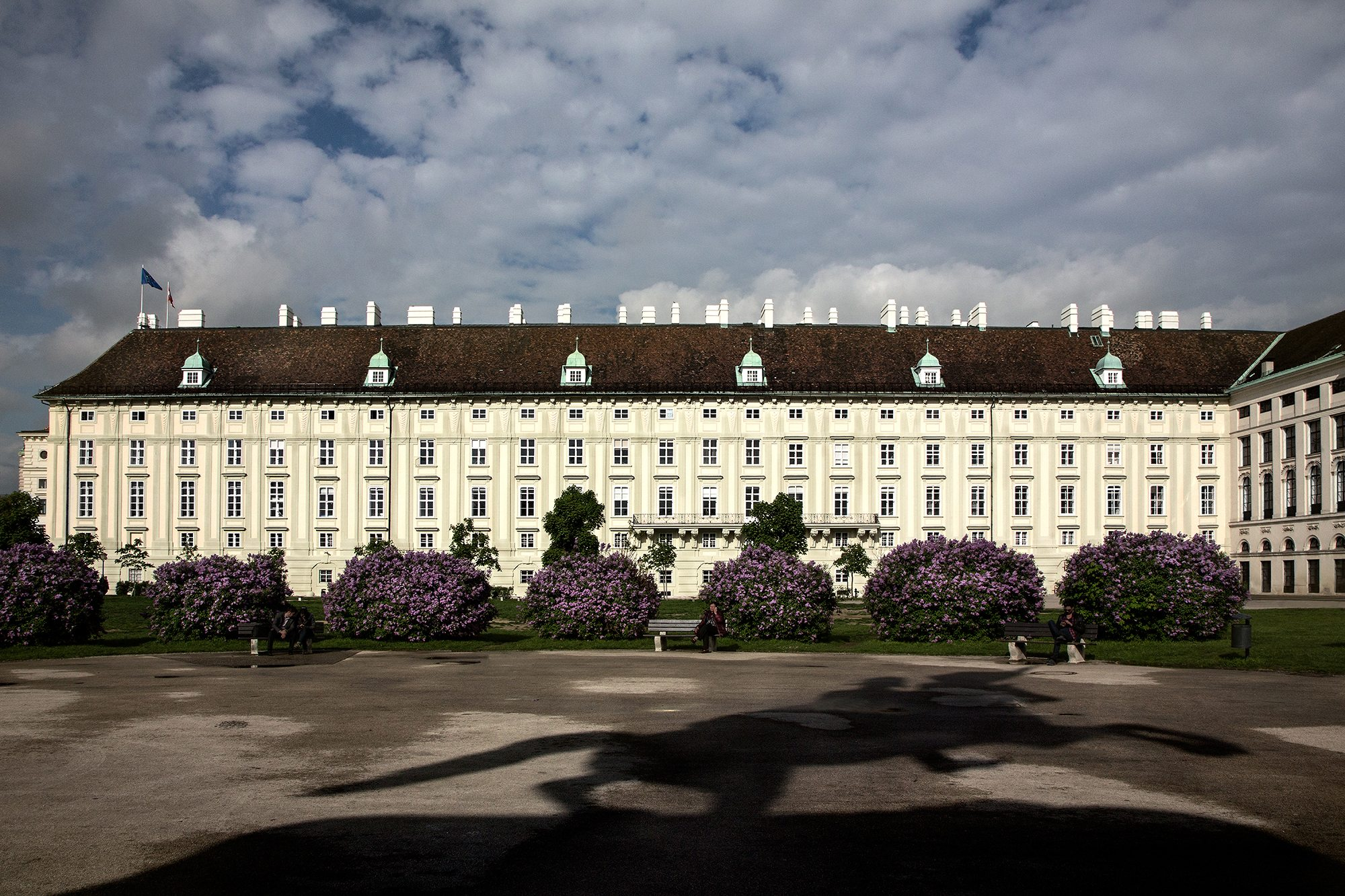 04 Leopoldine Wing, Hofburg Imperial Palace, Vienna 2016 by Patricia Wallace