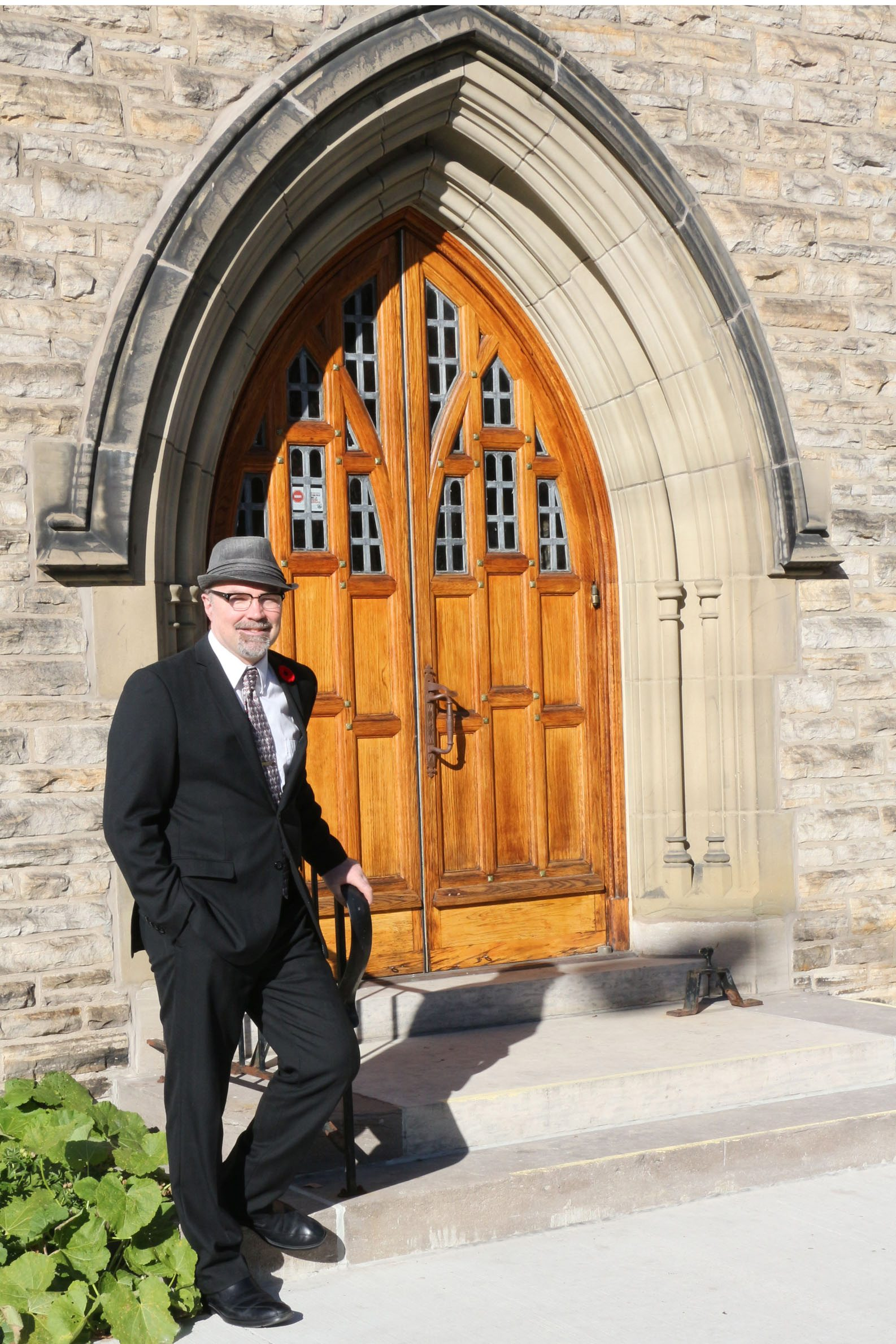 Jim Pot, minister at Knox Presbyterian Church at the corner of Elgin and Lisgar. Photo: Phil Winkelaar