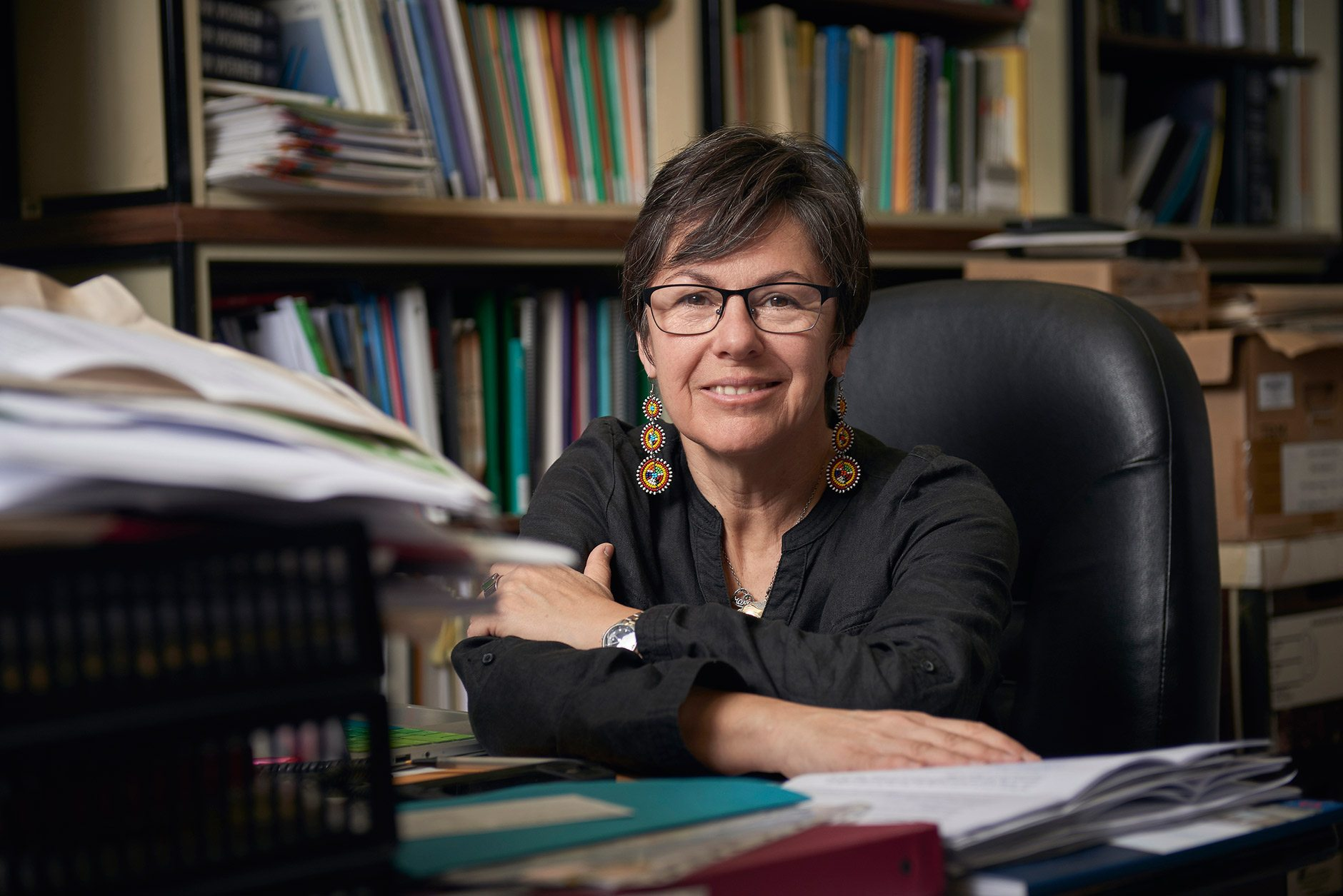 Kim Pate, a newly appointed senator, was interviewed in September in her office at the Canadian Fry society in Ottawa. Photo: Jessica Deeks
