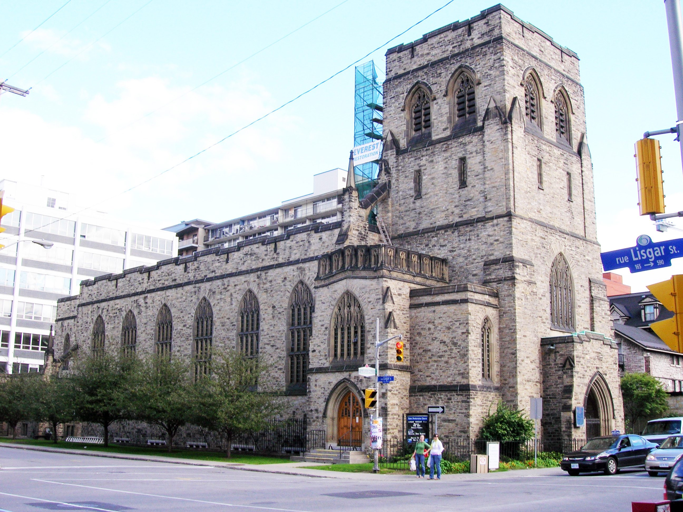 Knox Presbyterian Church. Photo: Wikimedia Commons