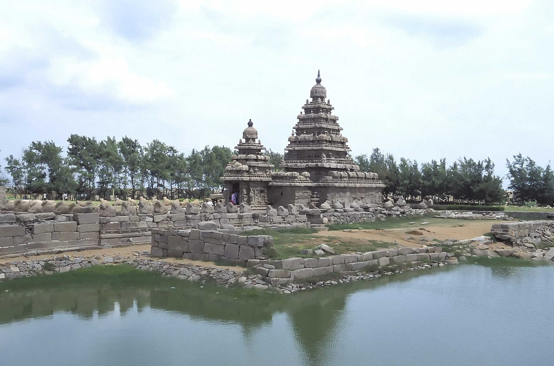 Shore Temple, Mahabalipuram, Tamil Nadu, India