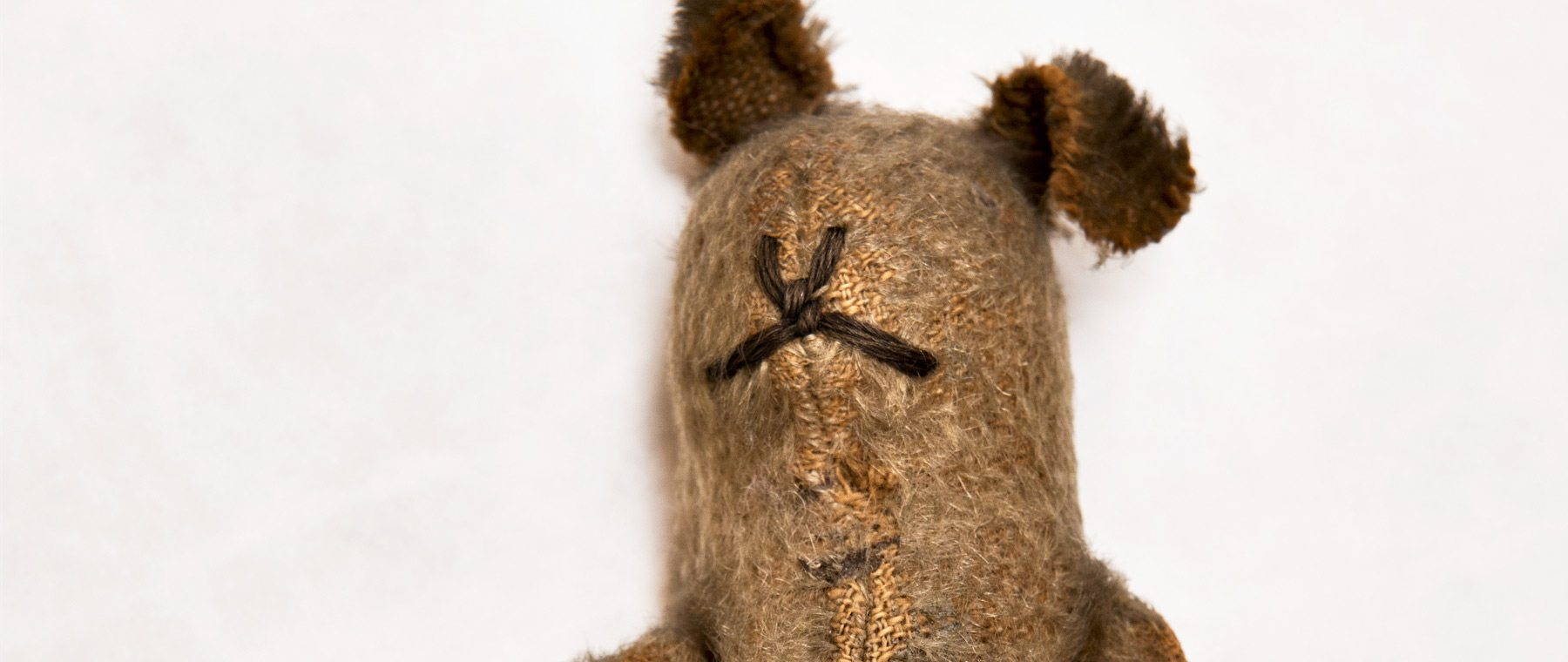 A medic's teddy bear is now a treasured reminder of separation and loss