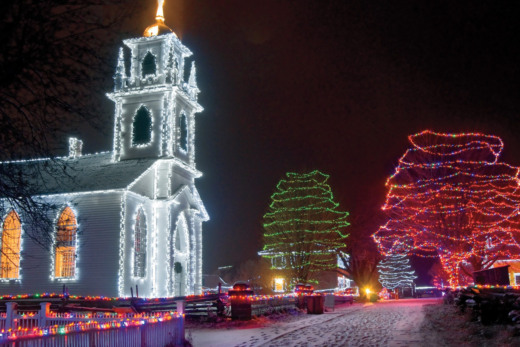 Upper Canada's Alight at Night, throughout December