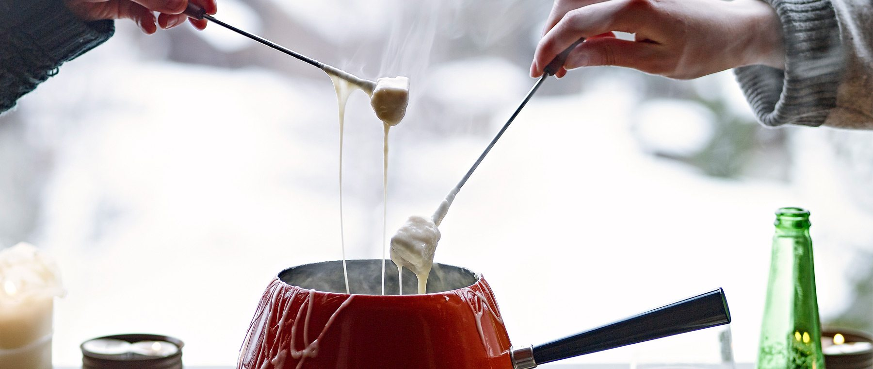 So fond of fondue — When it gets cold, enjoy quintessential Swiss comfort food, out!