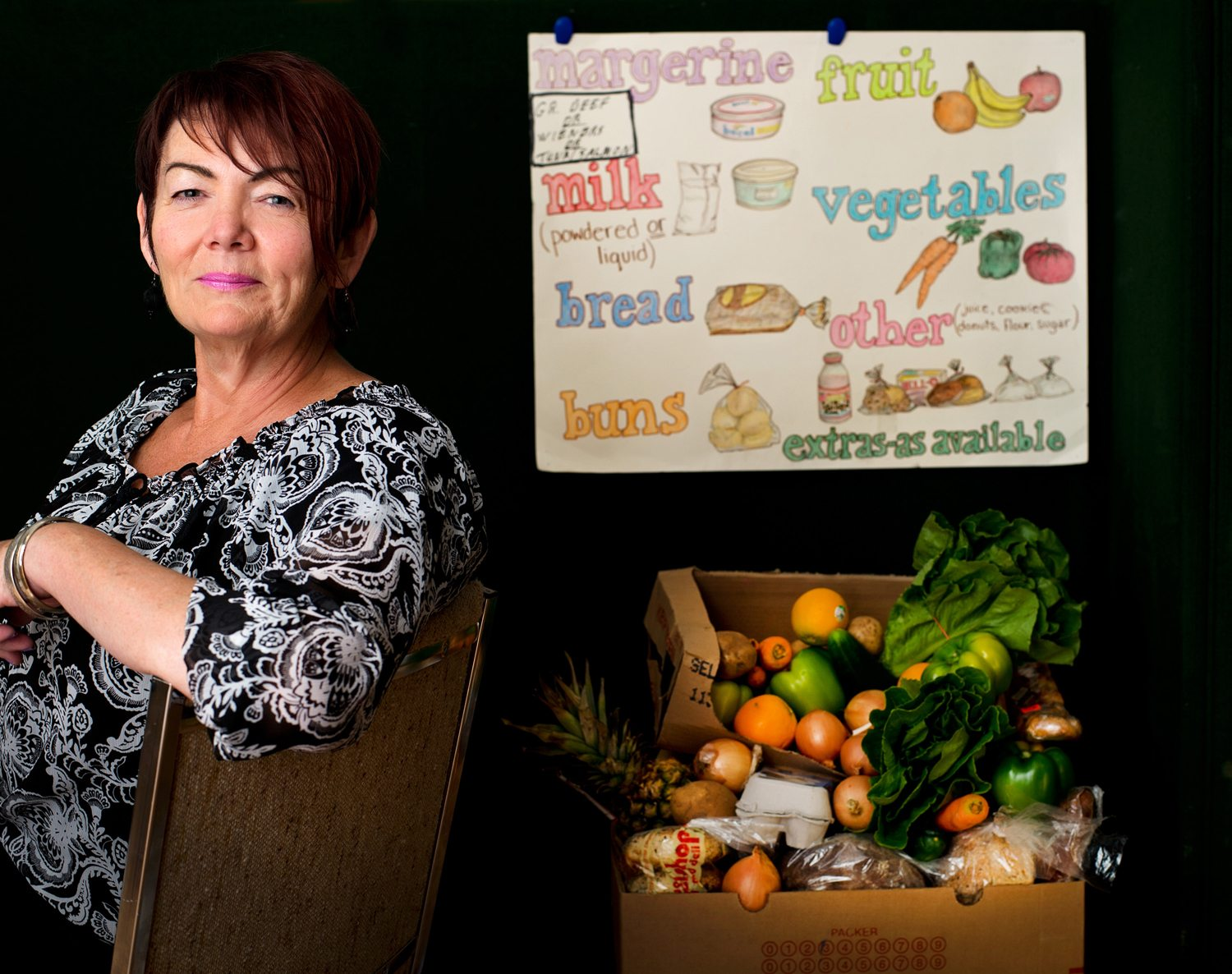 For the past four years, Karen Secord, manager of the Parkdale Food Centre, has pusehd people to think outside the box in terms of what a food bank can offer its community. Photo: Luther Caverly