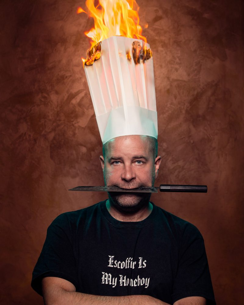 Patrick Garland, chef/owner of Absinthe restaurant. Photo: Justin Van Leeuwen