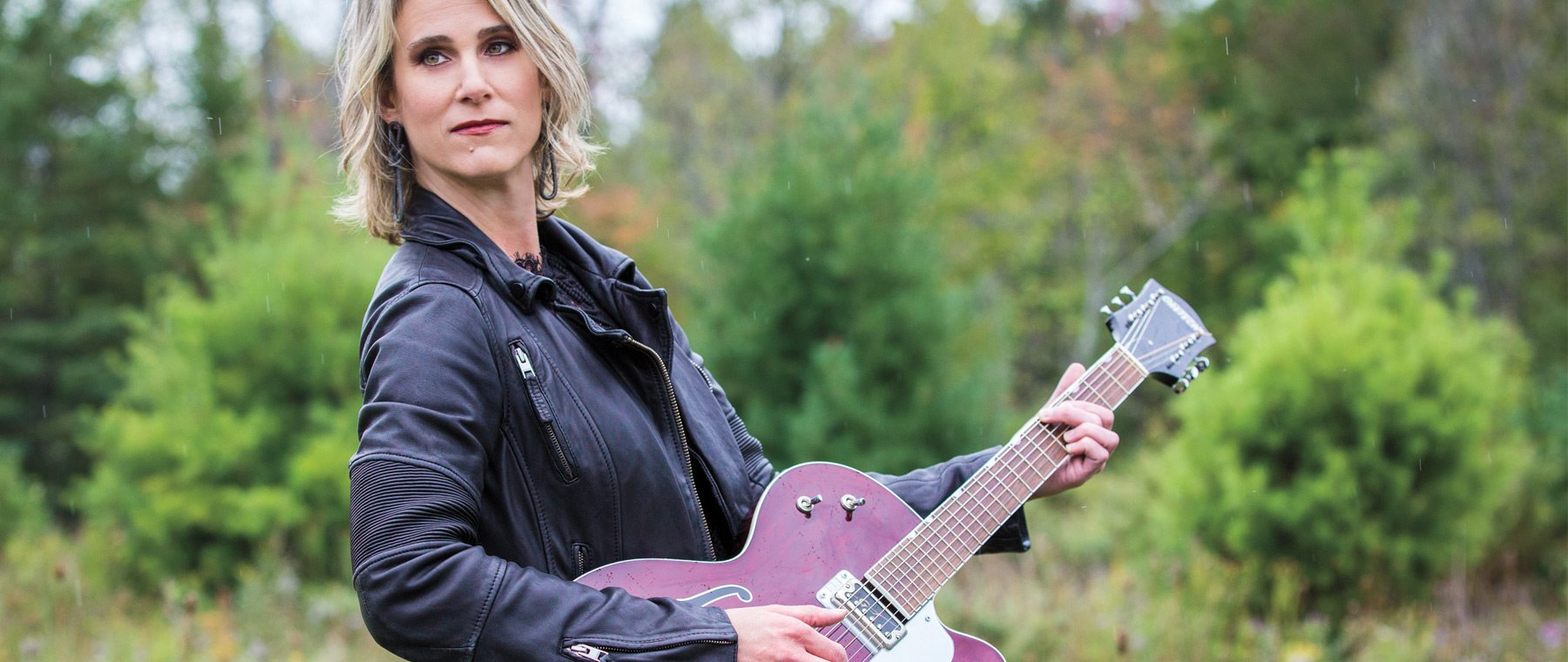 Musician Lynne Hanson on Uneven Ground