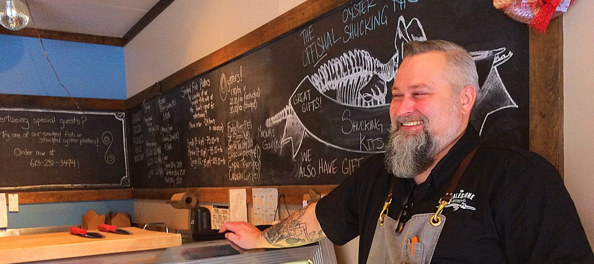 The return of Steve Mitton! Murray Street chef joins the Whalesbone team