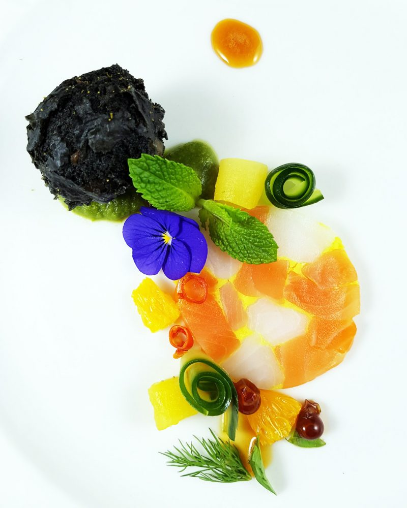 Calgary chef Jinhee Lee's winning dish