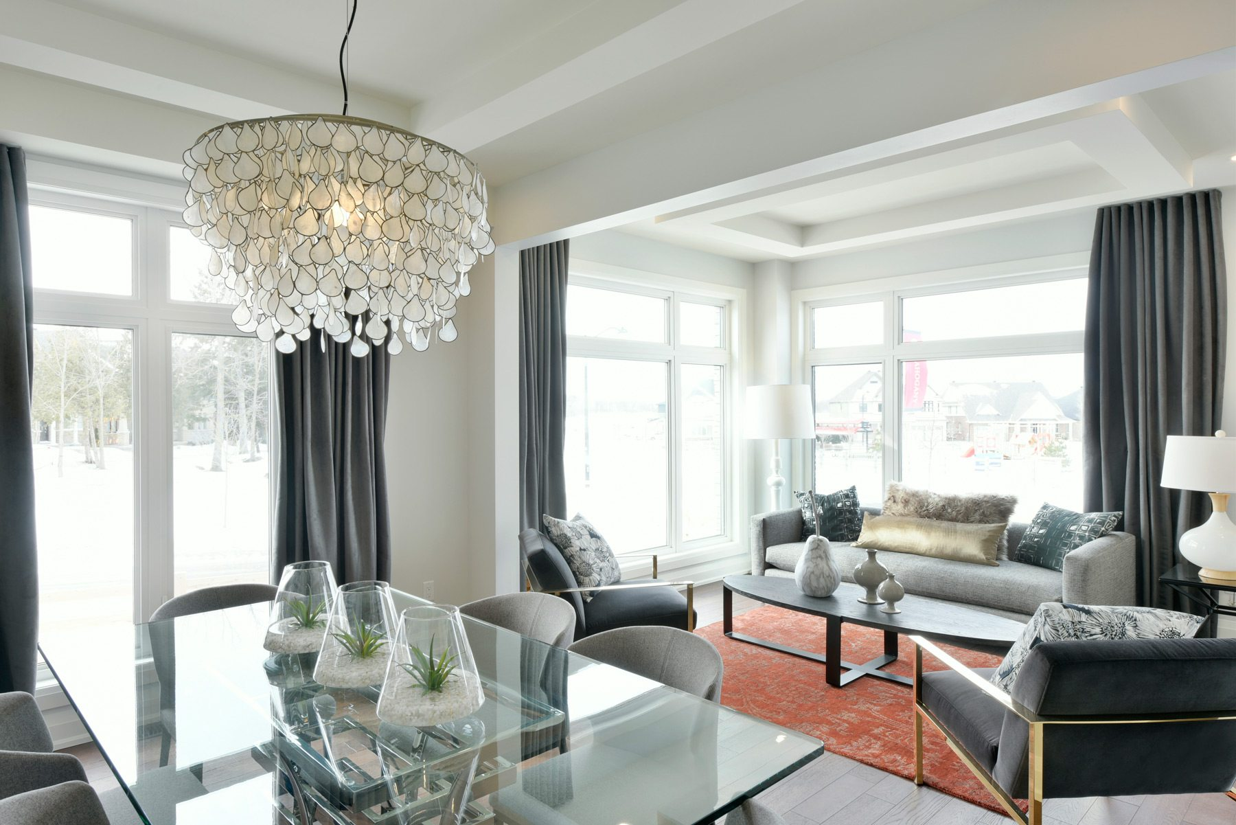 Minto's Elderberry living and dining room. Photo: Gordon King Photography