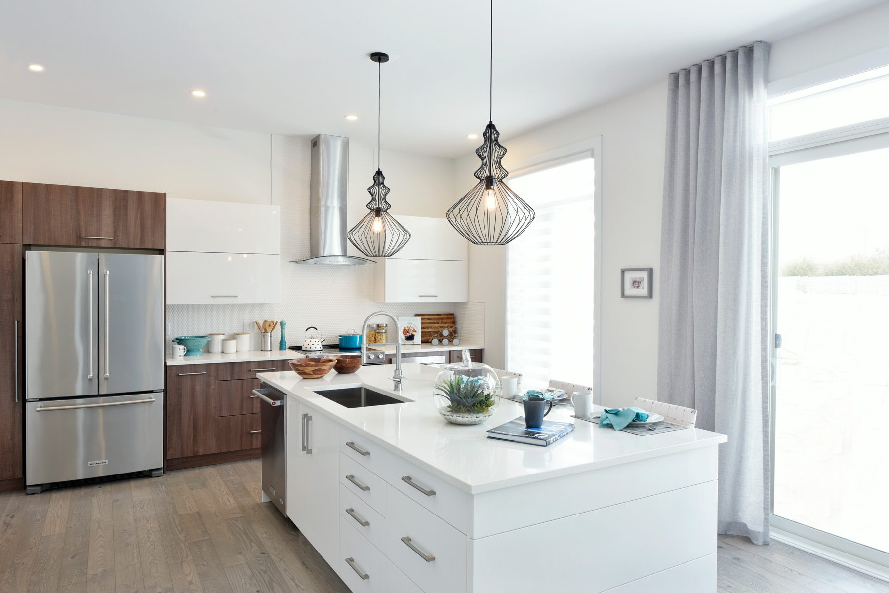 Minto's Heartwood kitchen. Photo: Gordon King Photography