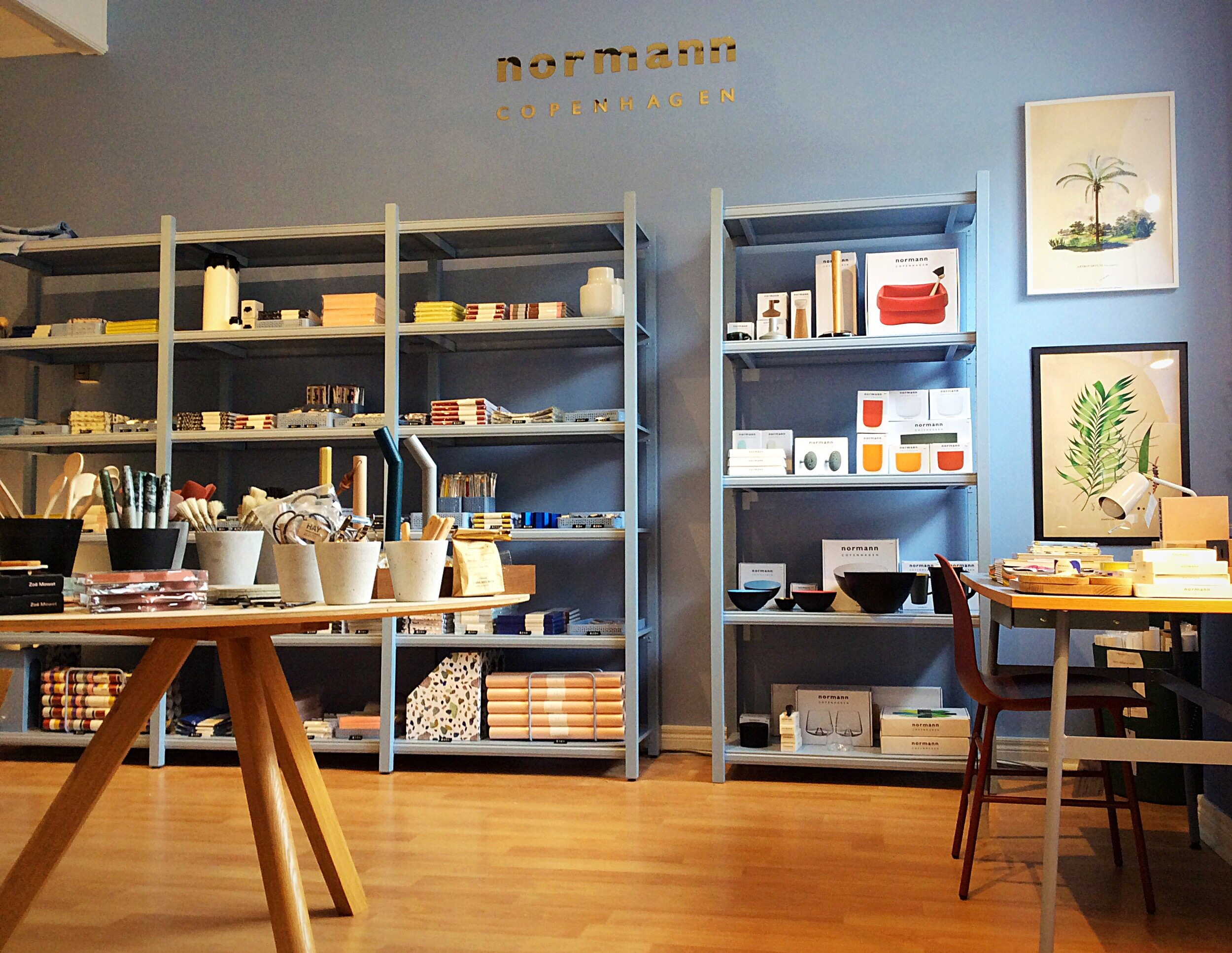 The new boutique will include Canada's only Normann Copenhagen Daily Fiction store