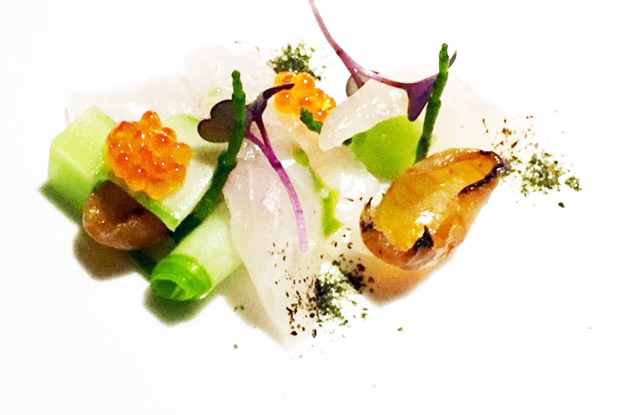 Sur Lie's Sea beam crudo