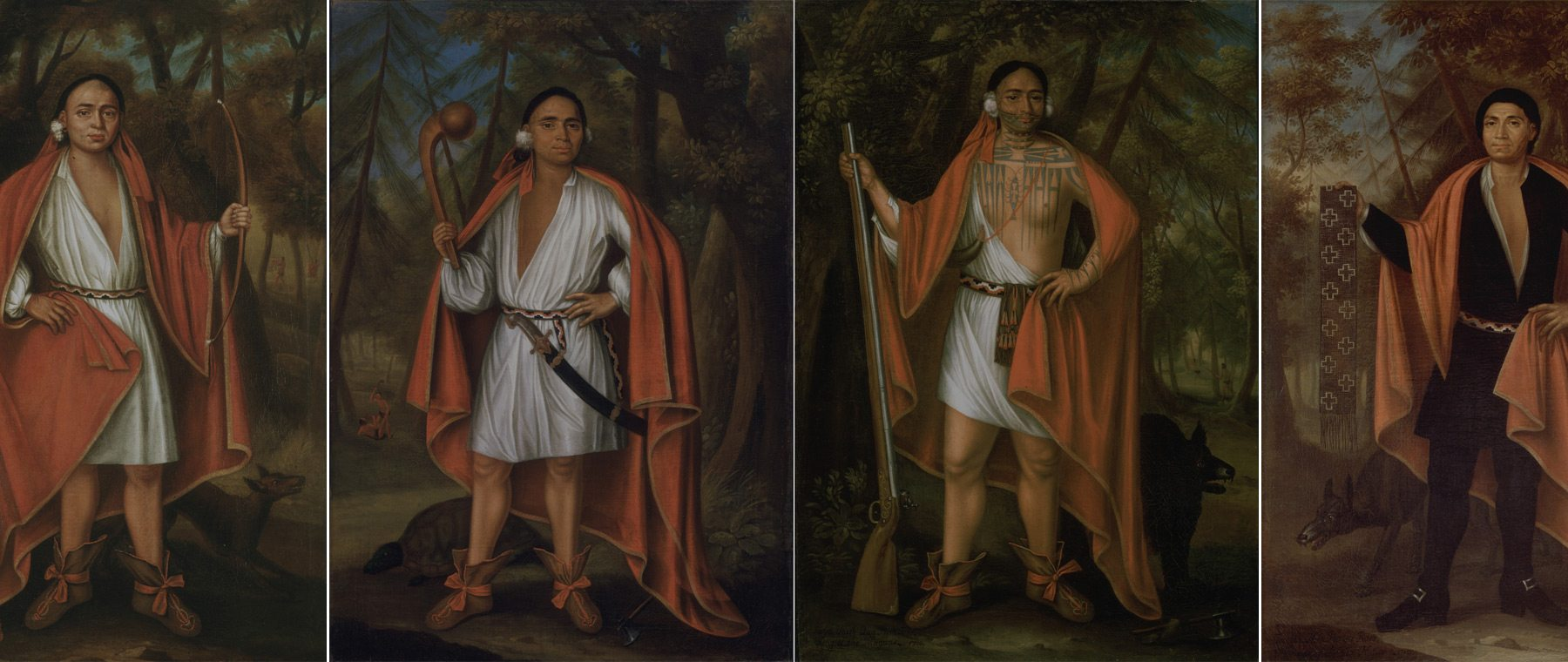 The 'Four Indian Kings', John Verelst (ca. 1648-1734) © Library and Archives Canada / Portrait Gallery of Canada