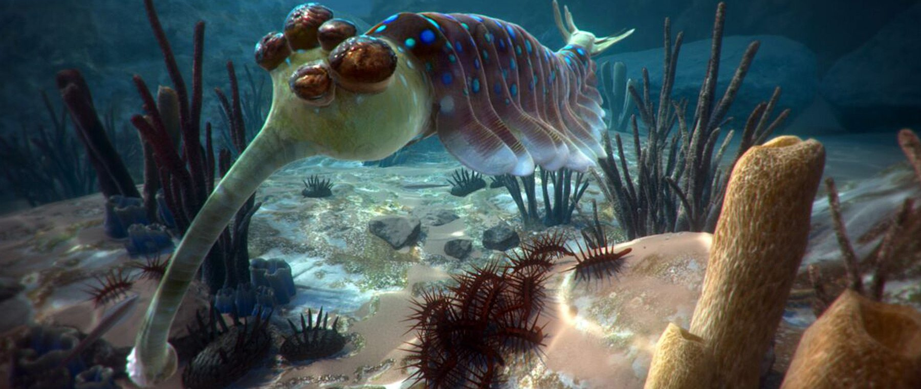 Future tech to peer at past — Museum's virtual reality immerses viewers in ancient oceans