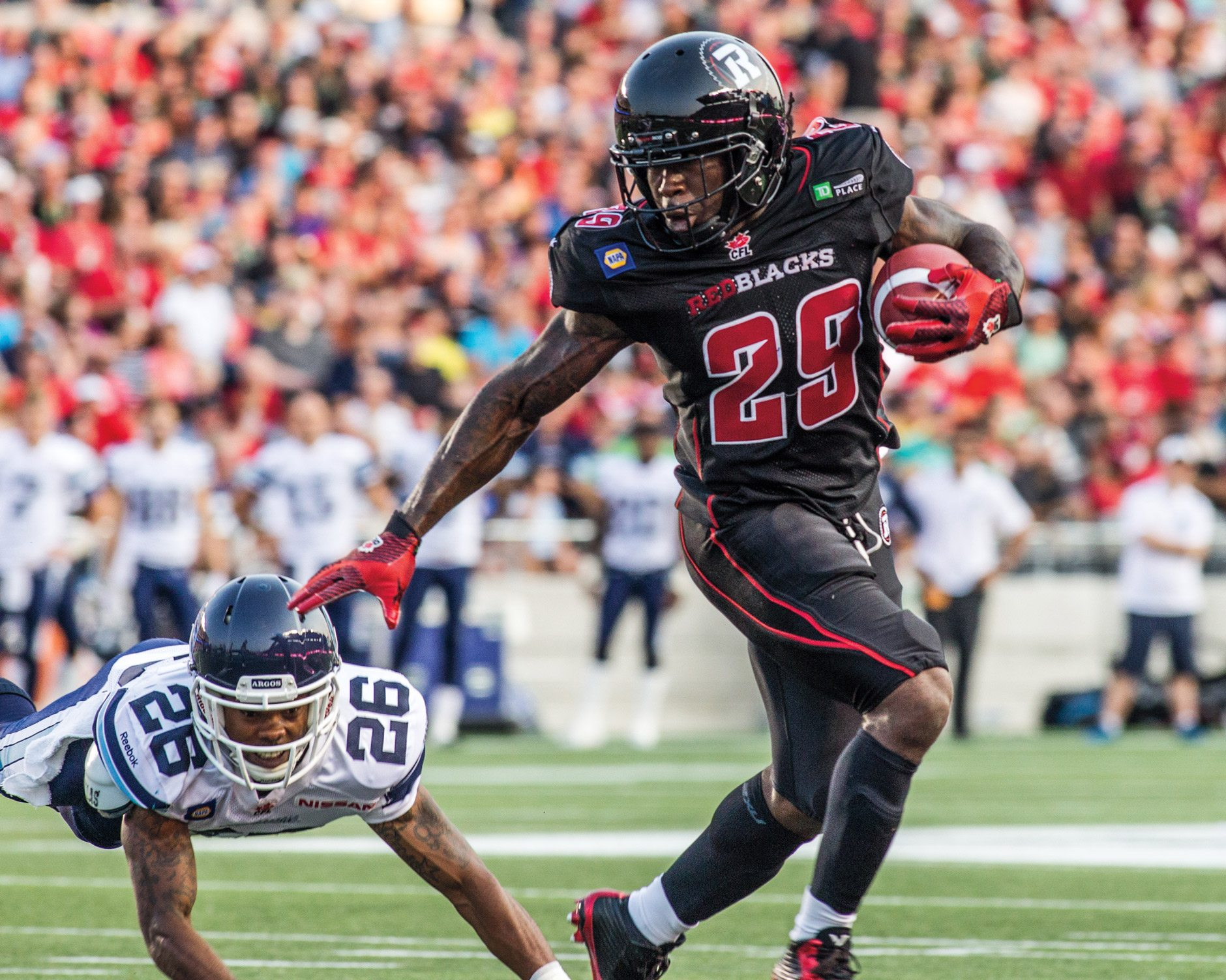 Ottawa REDBLACKS and CP Images