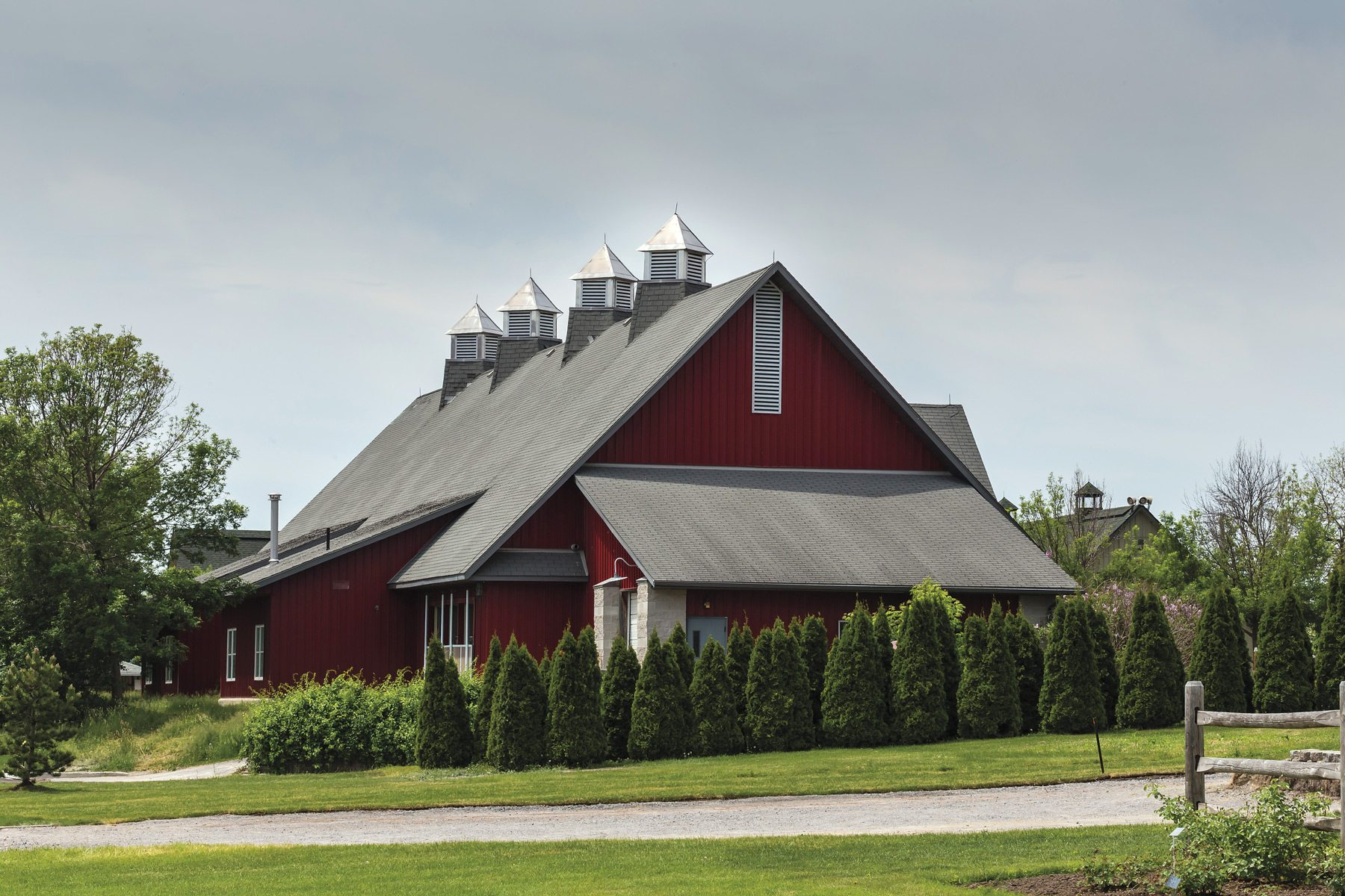 Photo: iStock Experimental Farm Barn