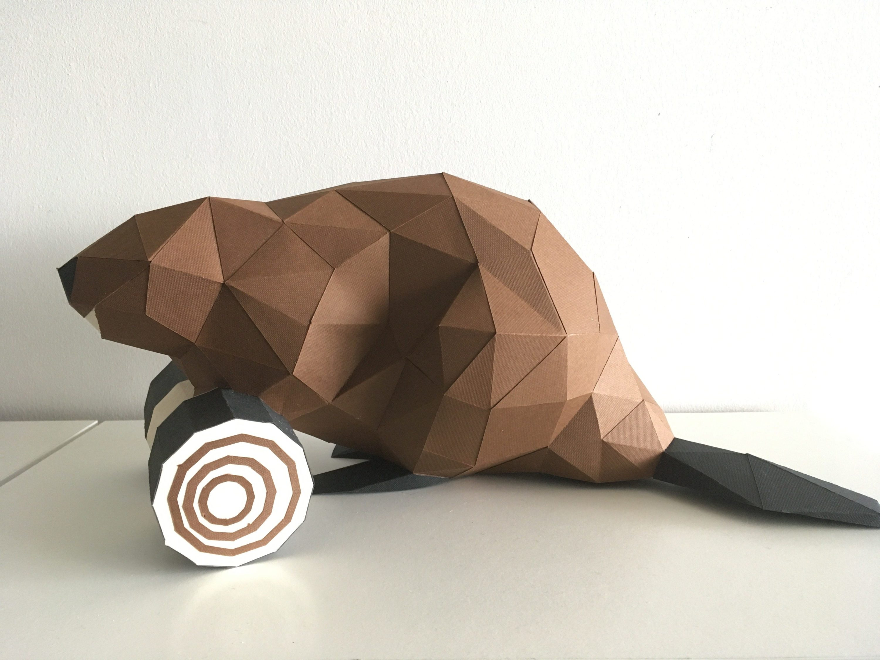 Beaver fever: Low Poly Crafts hosts a 3D paper beaver workshop on June 11. Preregistration a must
