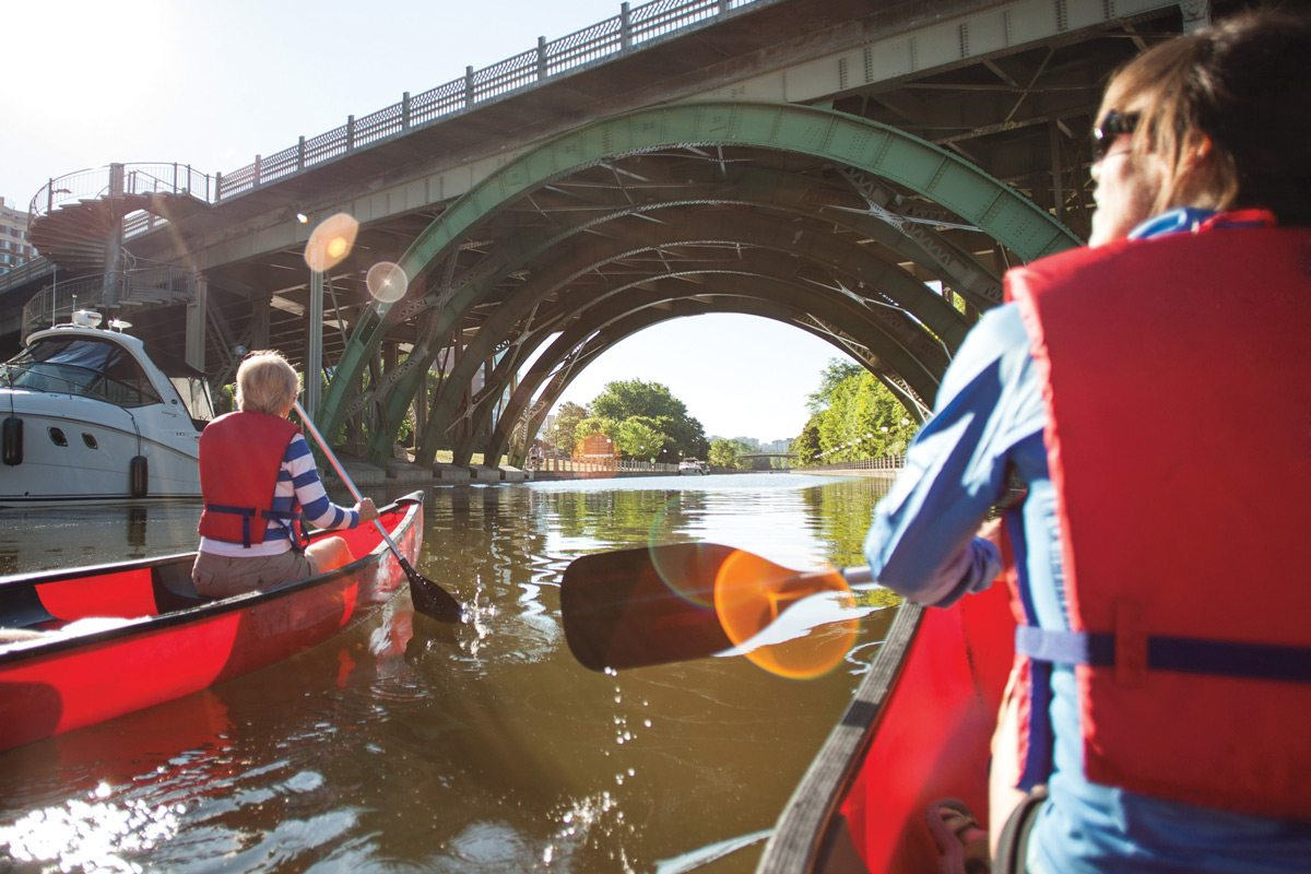 Rideau Canal. Photo: Destination Canada