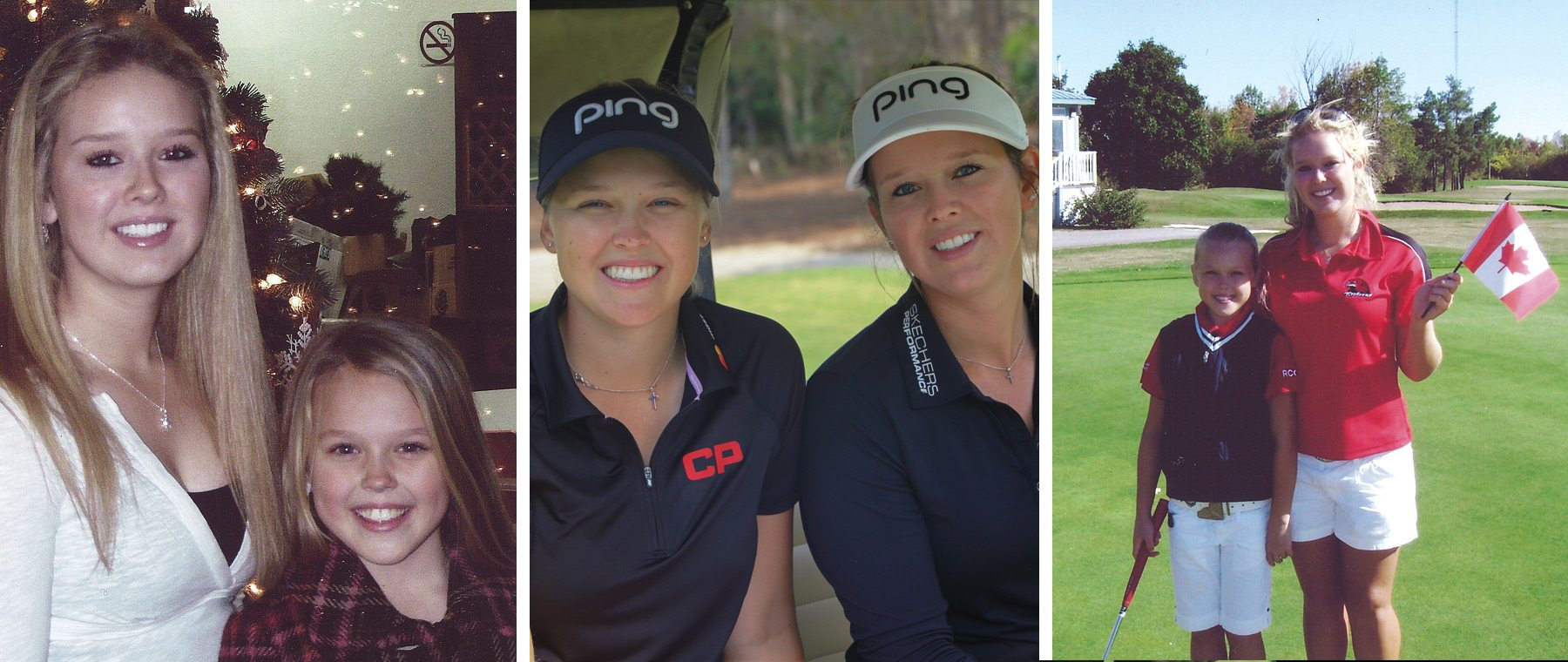 Sister, caddie, best friend — Brooke & Brittany Henderson chat about their golfing partnership