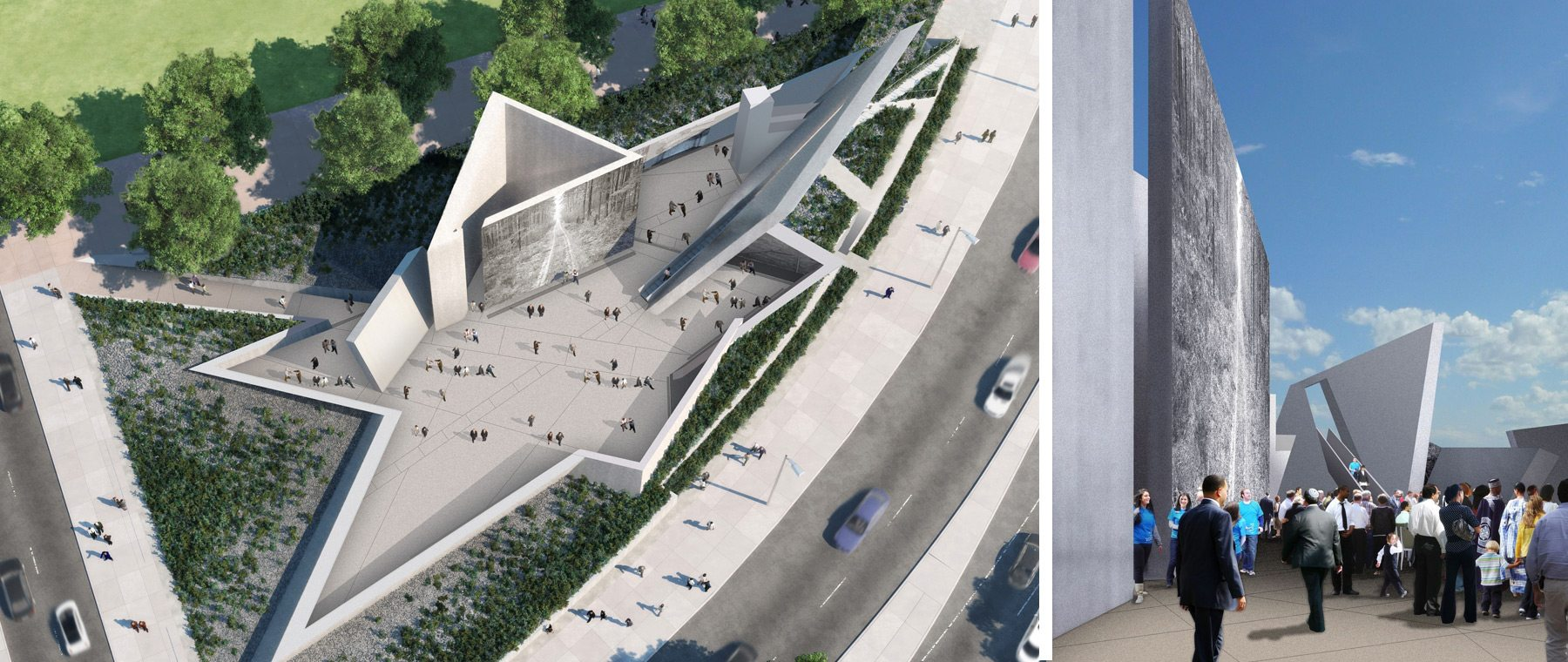 Holocaust Monument offers glimpses of hope