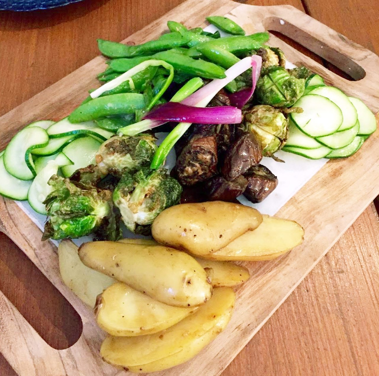 Meat Press's vegetable board