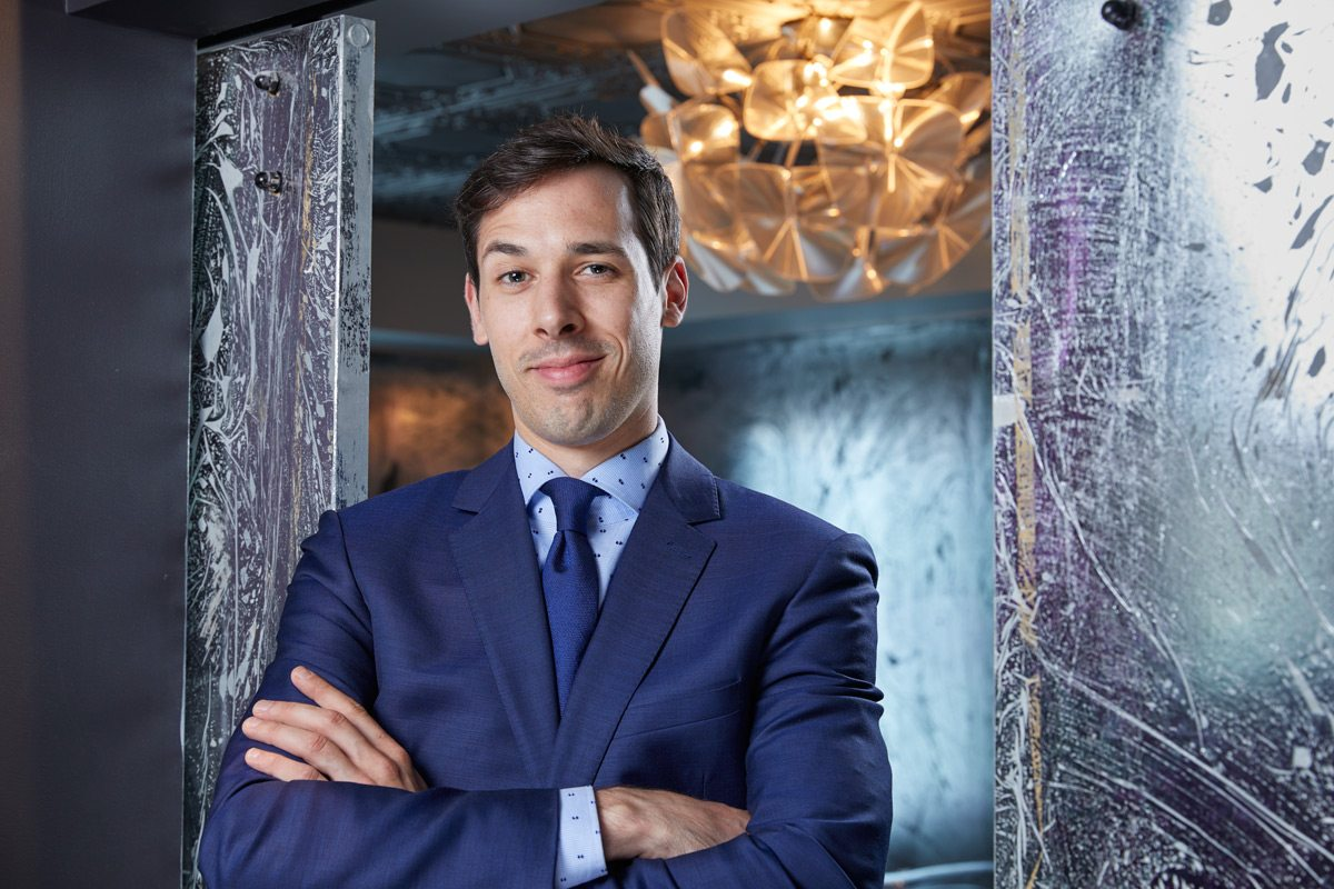 Steve Robinson, general manager and head sommelier of Atelier. Photo: Miv Fournier