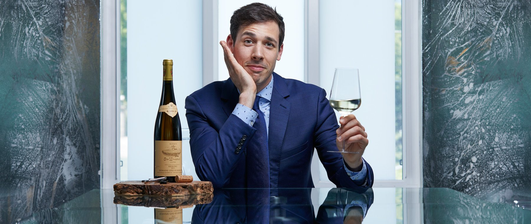 Master sommelier certification — a brutal process few pass. Atelier's Steve Robinson on what it takes & wines he looks for