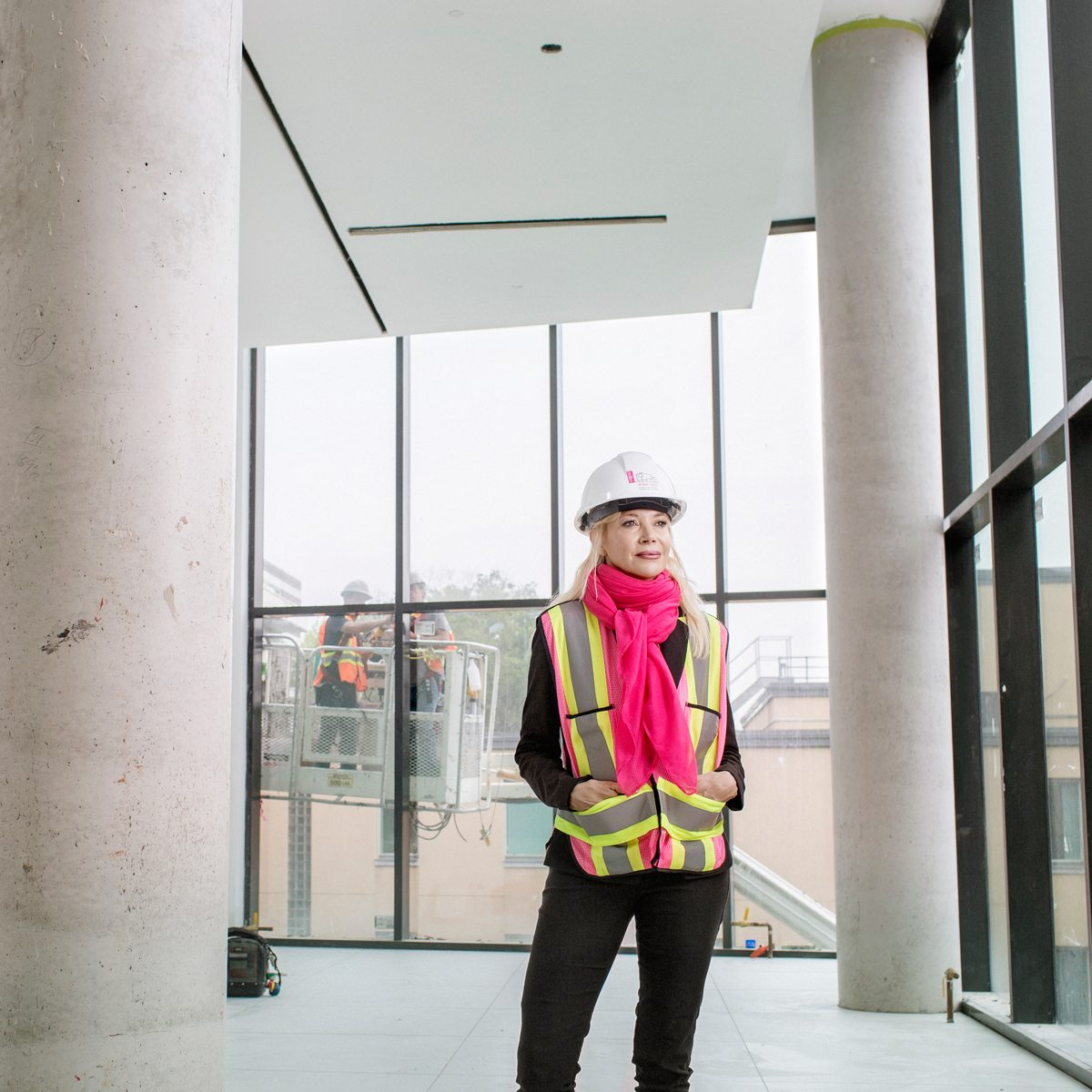 Such great heights: Alexandra Badzak, OAG director, was hired to spearhead the renovated gallery. Photo: Jamie Kronick