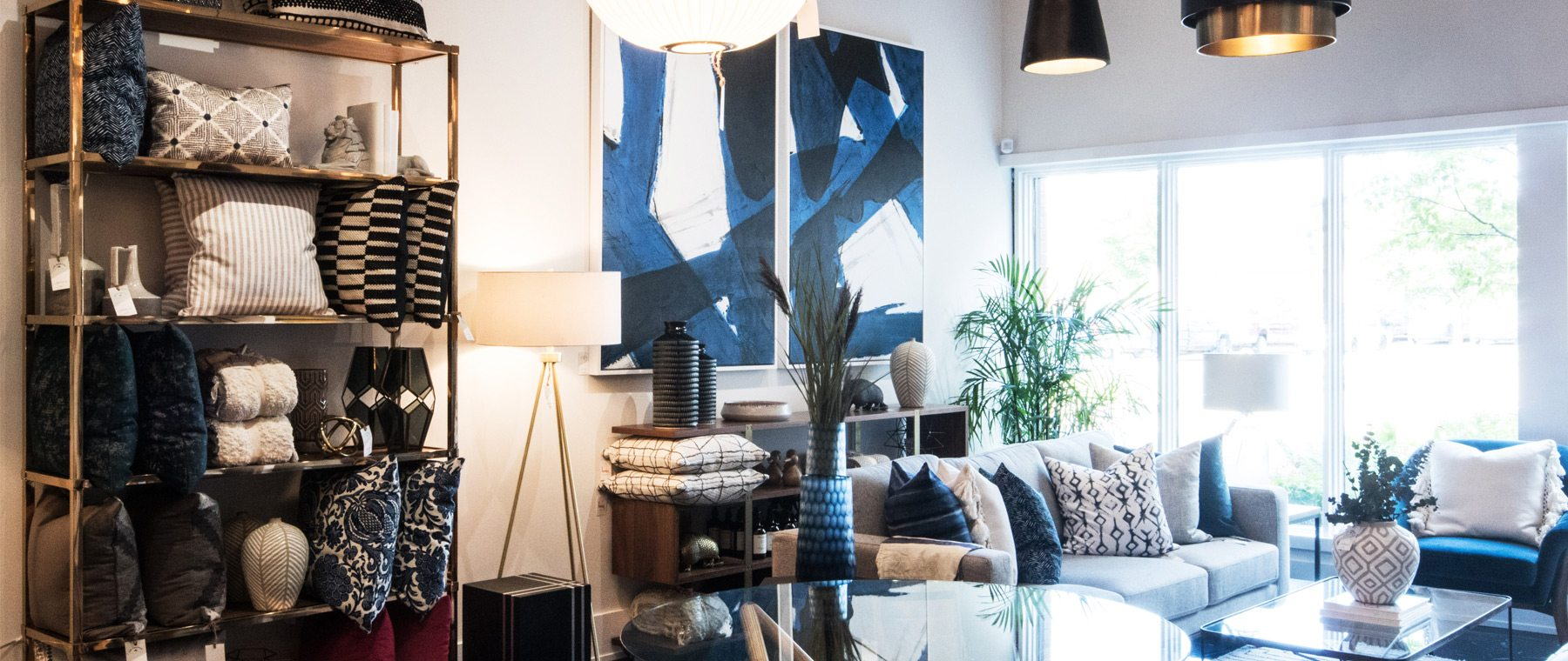 Leclair Decor complements its online shopping site with east-end showroom