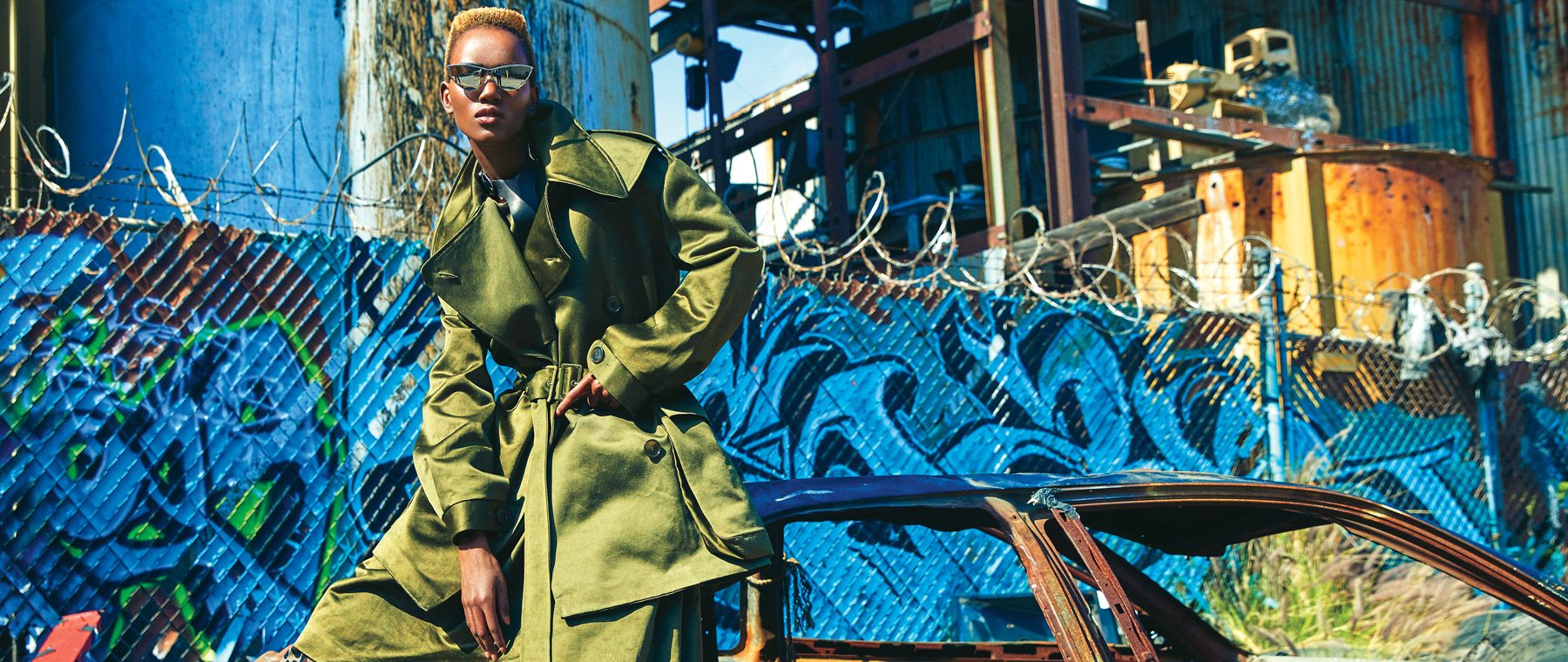 Ottawa supermodel Herieth Paul on fall coats & cooler weather