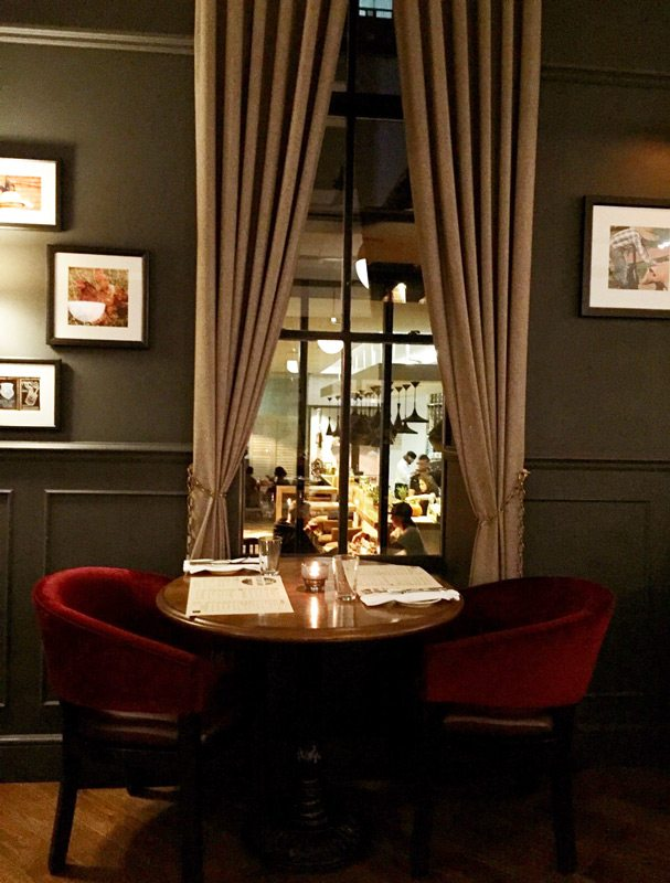 Desbrisay Dines The Albion Rooms