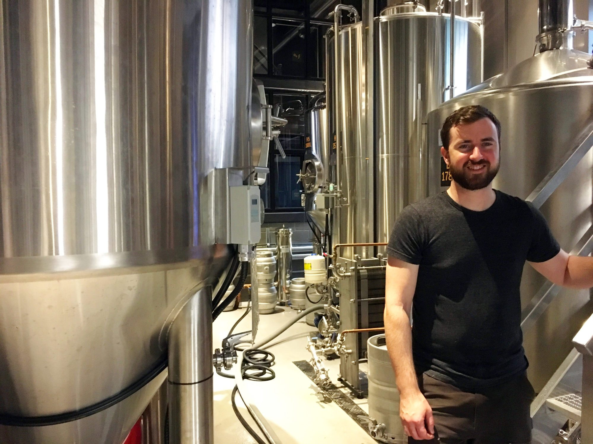 Brewer Rod Hughes comes to Ottawa by way of Vancouver, where he was head brewer at R&B Brewing