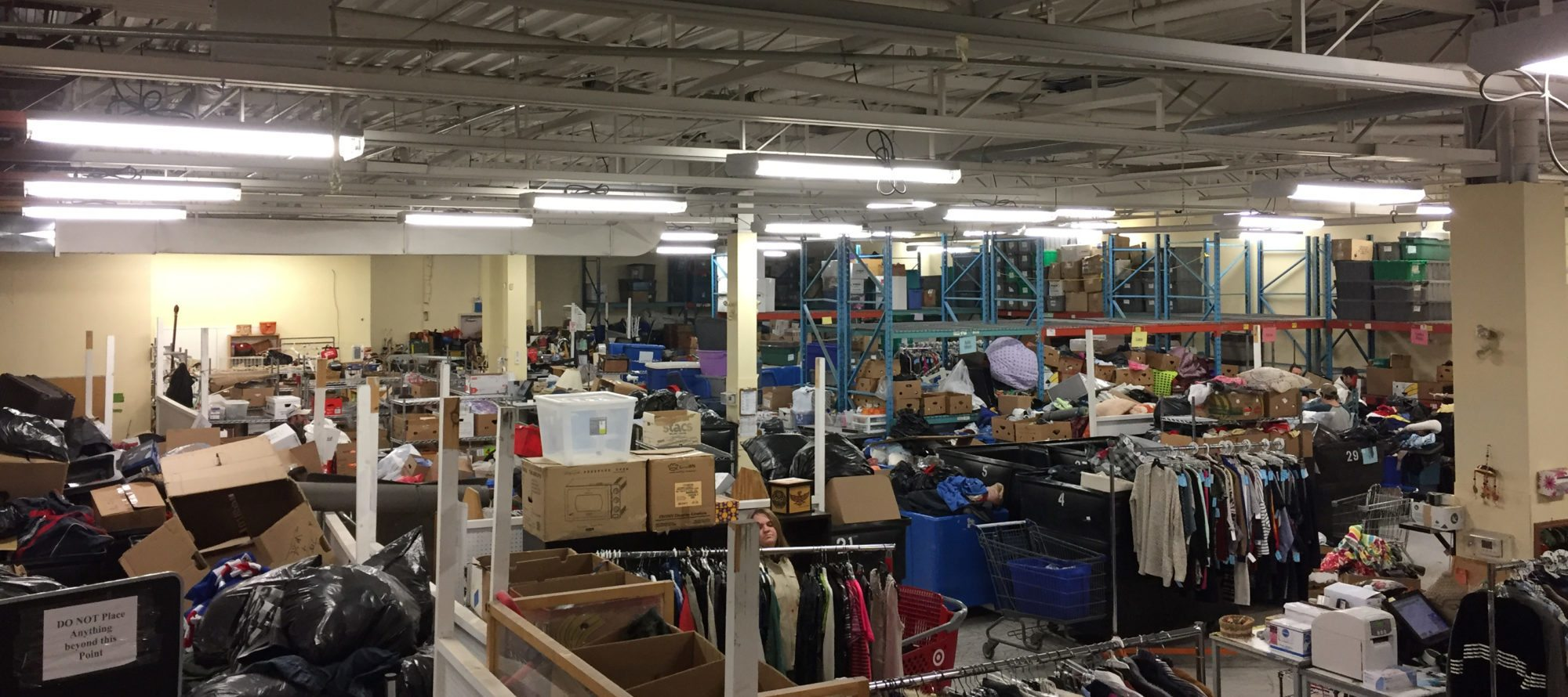 The Stories of Stuff: Touring St. Vinny's sorting centre