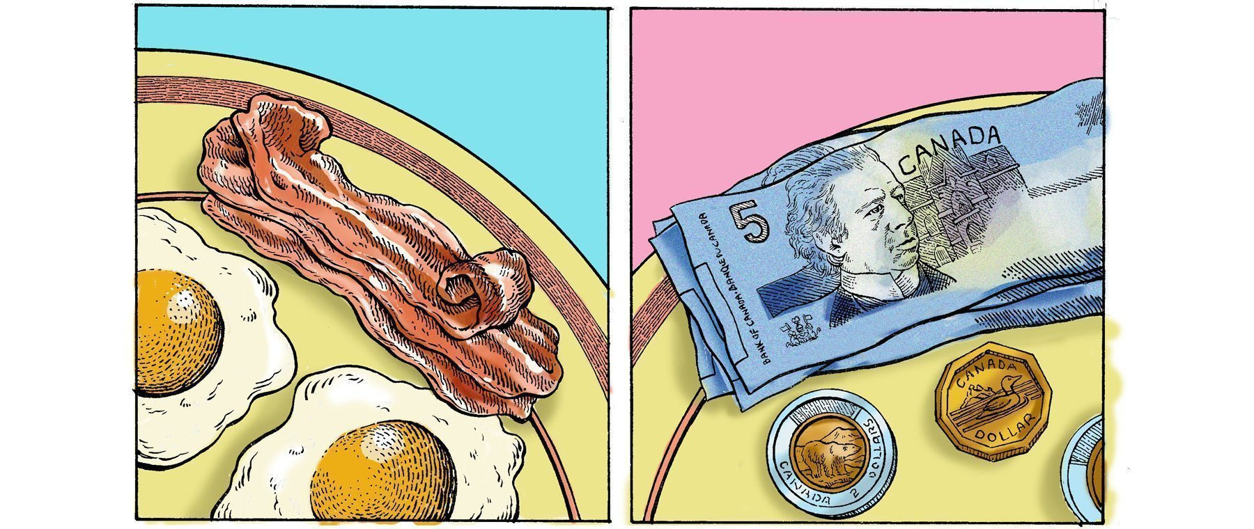 """""""Whatever happened to the $3.99 breakfast?"""" How I juggled food prices and minimum wage — and lost"""