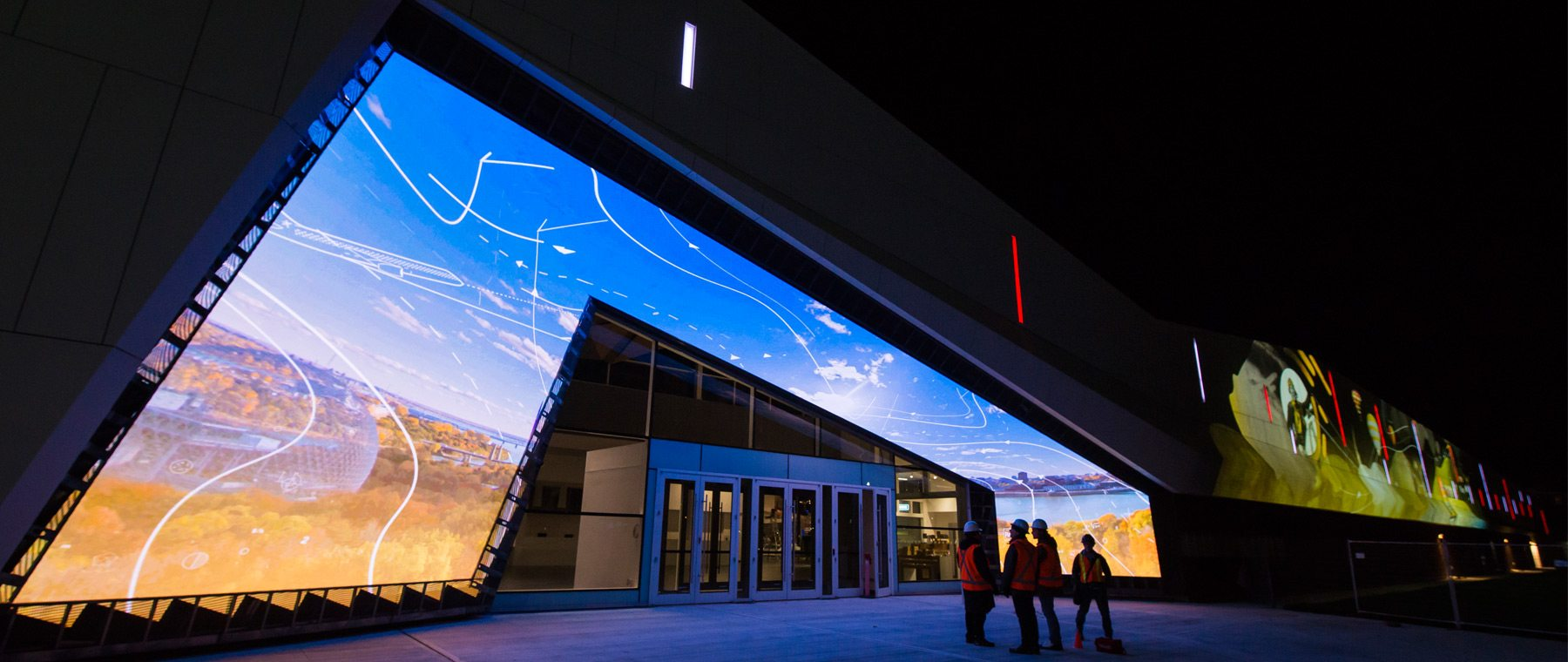 Science & Technology Museum's redesigned front entrance. Courtesy of Science & Technology Museum