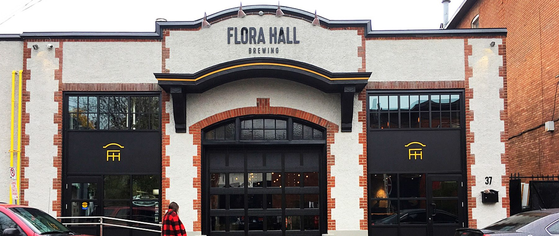 Flora Hall Brewing restores historic garage, opens taps in heart of Centretown