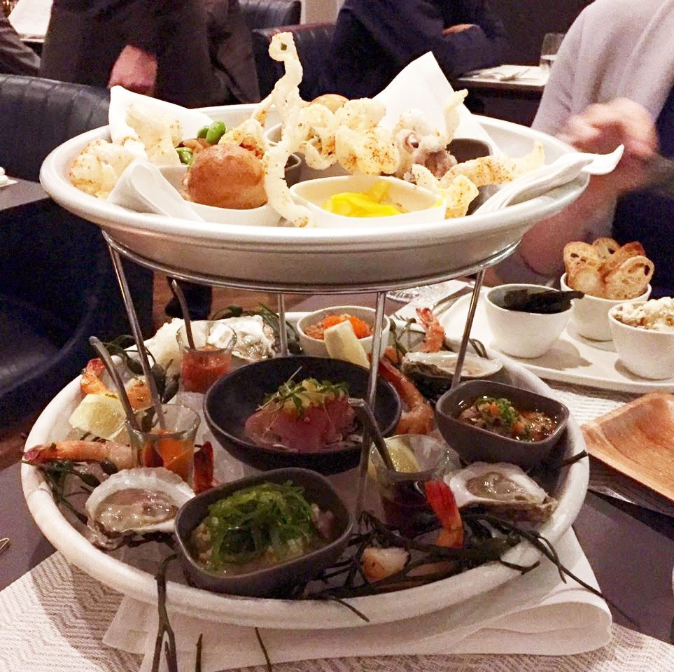 Stofa's seafood tower