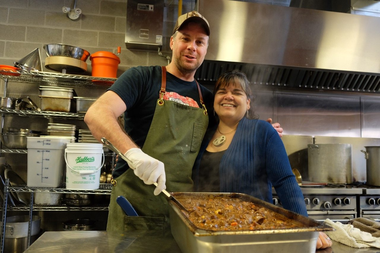 Ben Baird teams up with Inuk chef Trudy Metcalfe at Flavours of the North