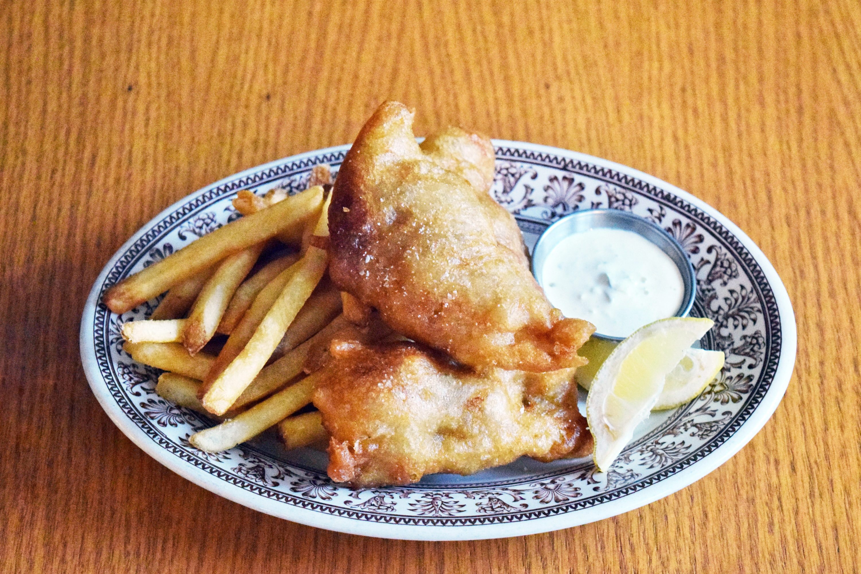 The Third serves a right-sized portion of haddock and chips for just $10