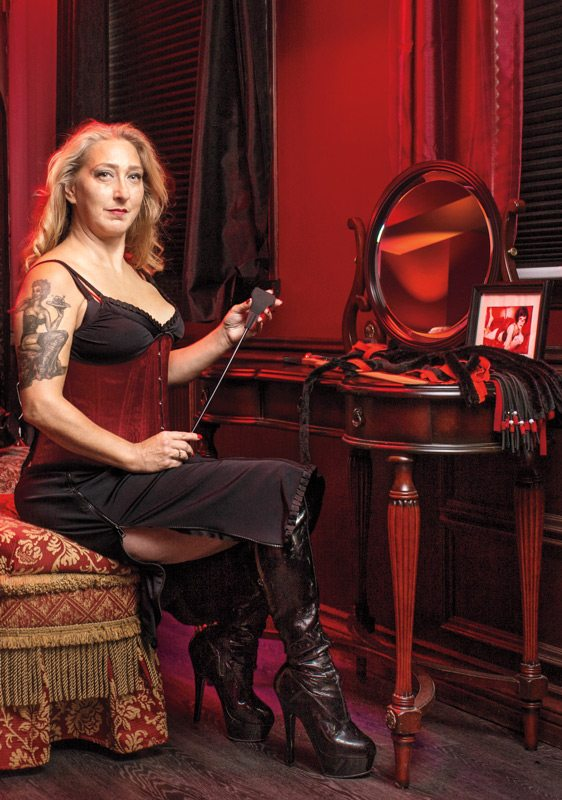 Wanda Cotie, owner of Club Debauchery and Wicked Wanda's Adult Emporium. Photo: Jamie Kronick