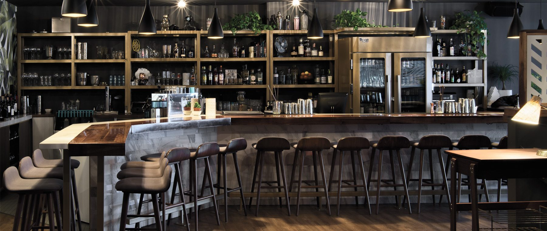 Inside the oh-so-Instagrammable retro-chic bar — Charlotte